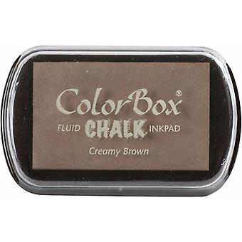 Clearsnap ColorBox Chalk Ink Full Size Creamy Brown