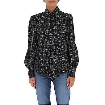 Marc Jacobs V6000053410 Women's Blue Polyester Shirt