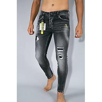 Skinny Fit Jeans - Grey