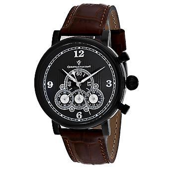 850, Christian Van Sant Men 's CV0713 Reloj marrón cuarzo