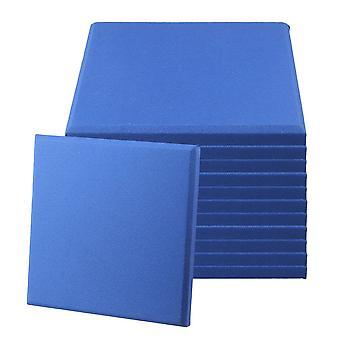 12kpl 25MM ääni akustinen absorptiopaneeli 30 * 30cm sininen
