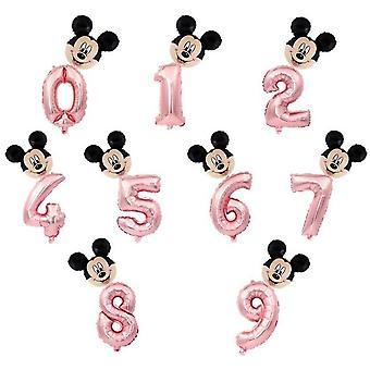 Nummer Folie Ballonnen voor partij decoraties