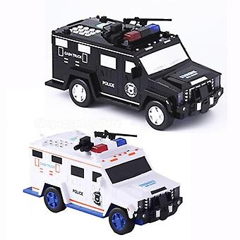Armored Electronic Car Bank Password Piggy Bank With Music And Light