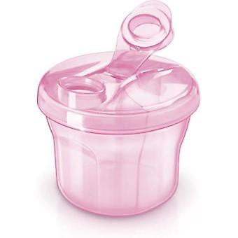 Avent maitojauhe jakaa laatikko vaaleanpunainen