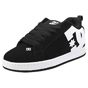 DC Shoes Court Graffik Mens Skate Trainers in Black