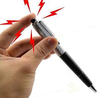 elektrisk støt penn leketøy utility gadget vits vits morsom prank triks nyhet venn&aos;s gave