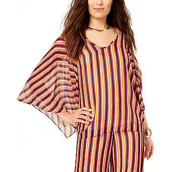 Trina Turk | Striped Wide-Sleeve Top