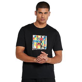 Fila Lively Graphic T-Shirt - Black