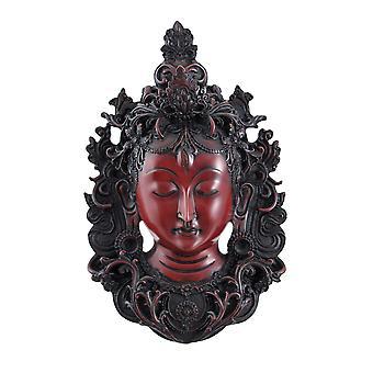 Mooie witte Tara masker muur opknoping