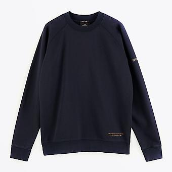 Whisky og sodavand - Bomulds sweatshirt - Navy