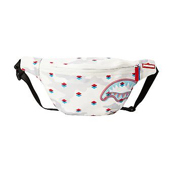 Sprayground 3D Crossbody Bag - White