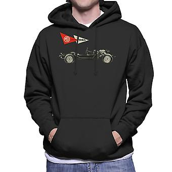 MG MGA Series British Motor Heritage Men's Hooded Sweatshirt