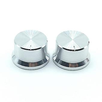 2pcs/30x18mm  Aluminum Alloy Switch Caps Roatry Encoder Potentiometer Knob Plum Shaft