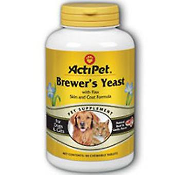 ActiPet Brewer's Yeast For Dogs, Beef, 90 ct chews