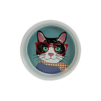 English Tableware Company Perfect Pets Cool Cat Bowl Small DD2876A01