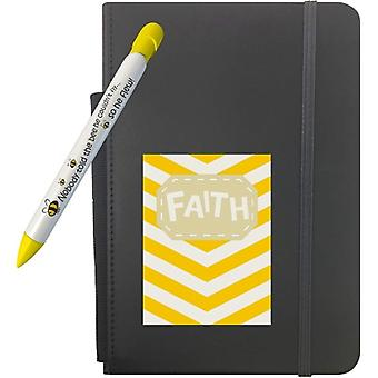 """306, Greeting Pen Faith Gift Set With 5"""" X 8.25"""" Notebook And 1 Rotating Message Pen (306)"""
