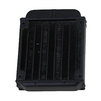 Metal Head Cooling CPU Heat Exchanger Radiator 80 Row Black