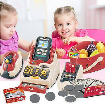 Led Music Shop Cash Scanner Model-pretend Play
