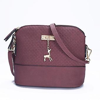 New Quality Pu Leather Soft Face Women Bag, Wild Shoulder Messenger Bag
