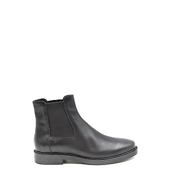 Tod's Ezbc025160 Women's Black Leather Ankle Boots
