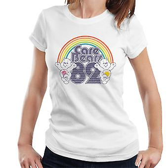 Pflege Bären 82 Regenbogen Funshine Bär und Teilen Bär Frauen's T-Shirt
