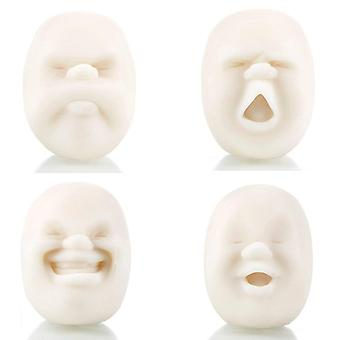 Vent Human Face Ball Anti-stress Ball