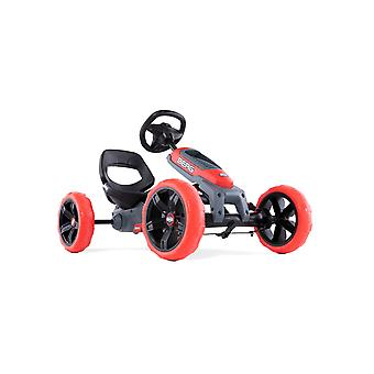 BERG red reppy rebel pedal junior go kart with soundbox