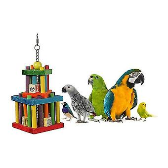 Happy kæledyr bygning blok labyrint Bird legetøj