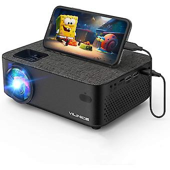 "Portable Wifi Mini Projector 6000 Lux 240""Display 1080P Full HD Video Projector"