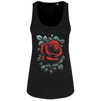 Requiem Collective Womens/Ladies Cardinal Rose Vest Top