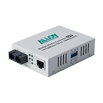 100 Mbps Standalone Rackmount Media Converter