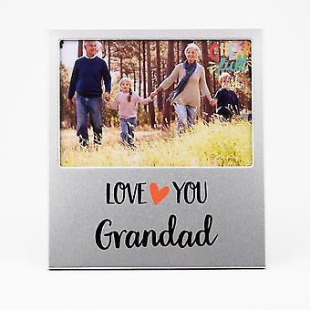 Widdop & Co. Aluminium Frame 6 X 4 - Love You Grandad