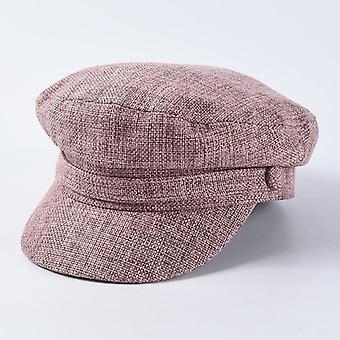 Military Hats Autumn Winter Vintage Army Cap & Female Newsboy Hat/casequette