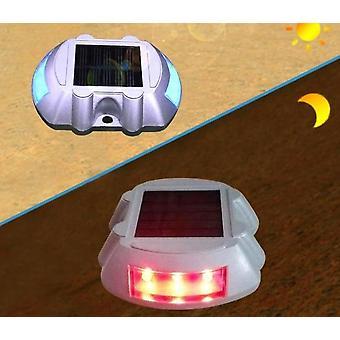 Podkova tvar solárne led, mačka oko reflexné road stud