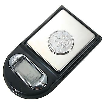 100gx0.01g Briquet Forme Mini Digital Jewelry Pocket Scale LCD Display