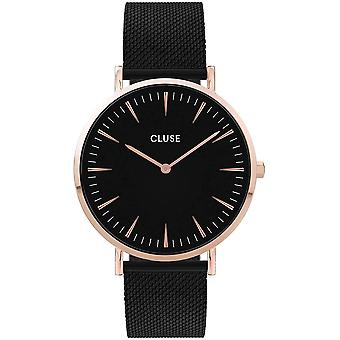 Cluse CW0101201010 Boho Chic Mesh Black Wristwatch
