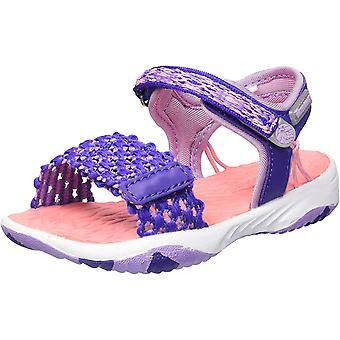 Jambu Girls' Mohi Outdoor Sport Sandal, Purple, 1 M US Little Kid