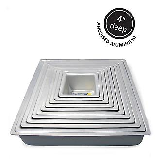"Square Cake Tin 6"" x 4"" (152mm x 101mm)"