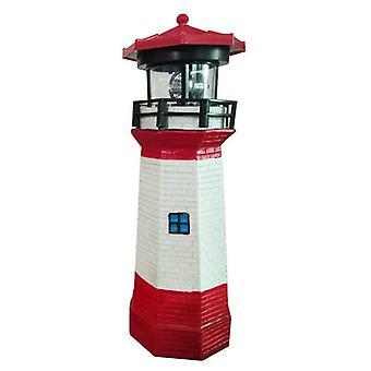 Led Solar Powered Lighthouse