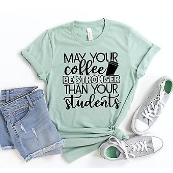 Olkoon kahvisi vahvempi kuin oppilaasi