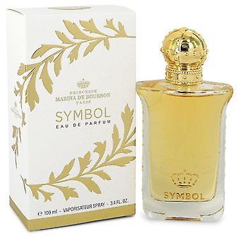 Marina De Bourbon Symbol Eau De Parfum Spray By Marina De Bourbon 3.4 oz Eau De Parfum Spray