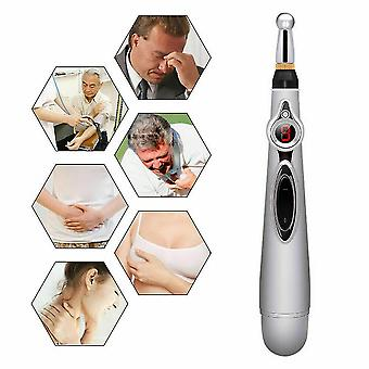 Electronic Acupuncture Pen Electric Meridian Body Massager Pain Relief Pen