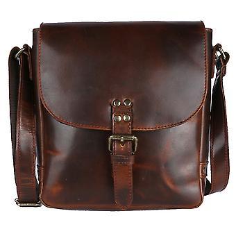 Ashwood Leather Eden Across Body Bag - Copper Brown
