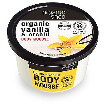Organic Shop Mousse Corporal Vainilla Bourbon 250 ml