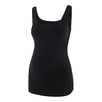 Mamalicious Womens Heal Tank Top Sleeveless Square Neck Cropped Vest