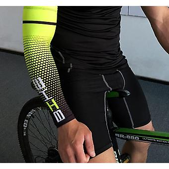 Men Cycling, Running Uv Sun Protection Cuff Cover For Arm Protection