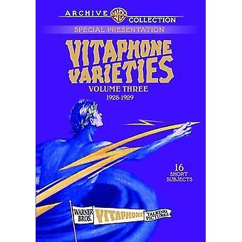Importer des variétés Volume Three Vitaphone [DVD] é.-u.