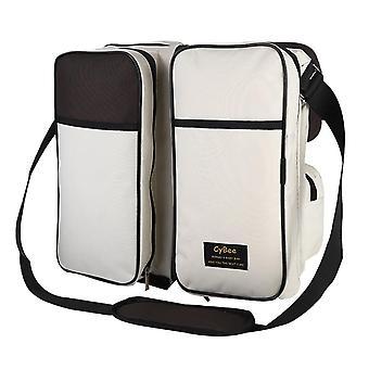 Large Capacity Pre-design Baby Diaper Bag, Waterproof For Stroller