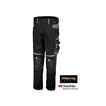 בטא 078200000 7820/XS X/מכנסי עבודה קטנים בסגנון מרובה-כיס שחור/אפור