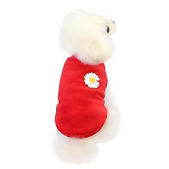 Kleine Hund Koralle Fleece Haus Kleidung Haustier Kleidung